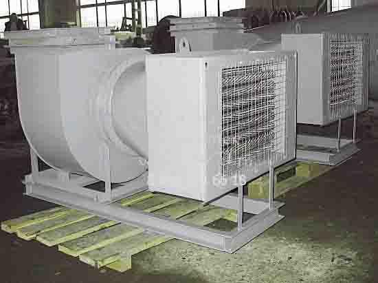 Агрегаты электрокалориферные на сайте ЧЭМЗ