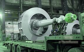 Производство дымососов и вентиляторов на заводе ЧЭМЗ
