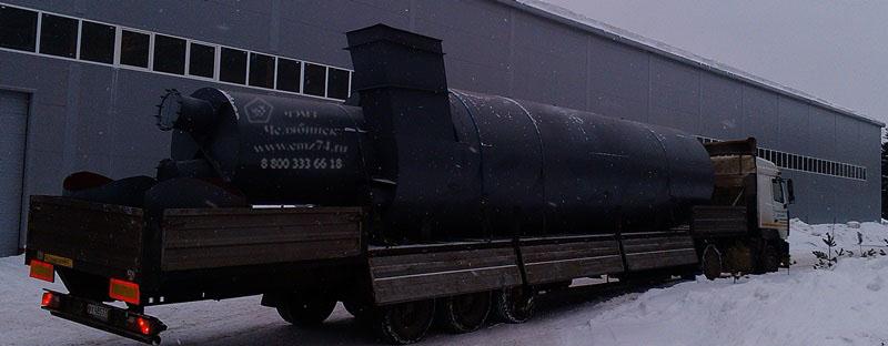 Циклон ЦН-15-2500 во взрывобезопасном исполнении правый (нестандартый)