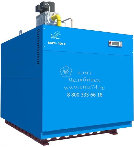 Газовый напольный котел Барс 300А на сайте ЧЭМЗ