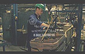 Производство котельного оборудования на сайте ЧЭМЗ