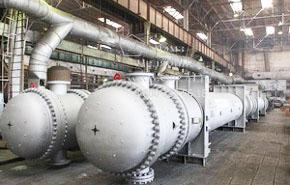 Производство теплообменников на заводе ЧЭМЗ