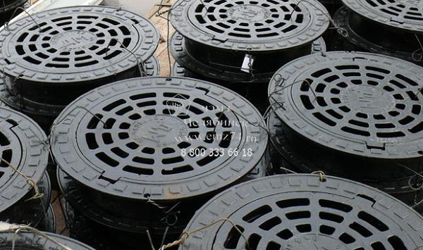 Люки для смотровых колодцев (канализации, водопровода) на сайте ЧЭМЗ