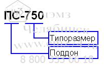 Условное обозначение поддона ПС для крышных вентиляторов на сайте ЧЭМЗ