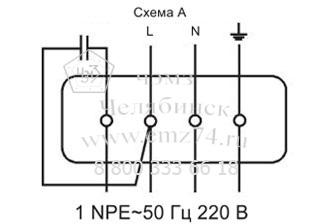 Схема канального вентилятора
