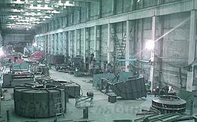 Цех по производству вентиляционного оборудования на заводе ЧЭМЗ